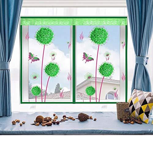 Green 110150 Green 110150 Mosquito net Screen Mosquito net to Prevent Insects Flies Magnetic Door and Window Ventilation Curtains Mosquito net Door,Green,110  150