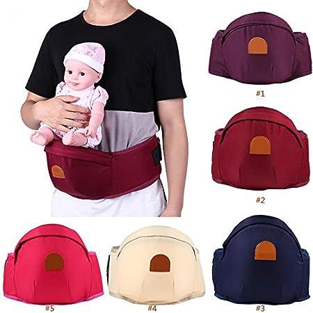 Porte-bébé bébé Taille Tabouret Sling avant ergonomique réglable support Wrap Ceinture Tofree
