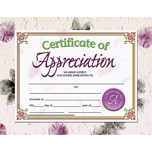 Flipside Certificate of Appreciation -