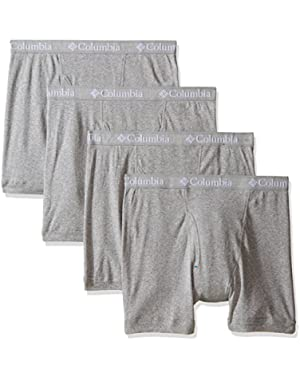 Columbia Men's 3 +1 Bonus Pack Cotton Boxer Brief
