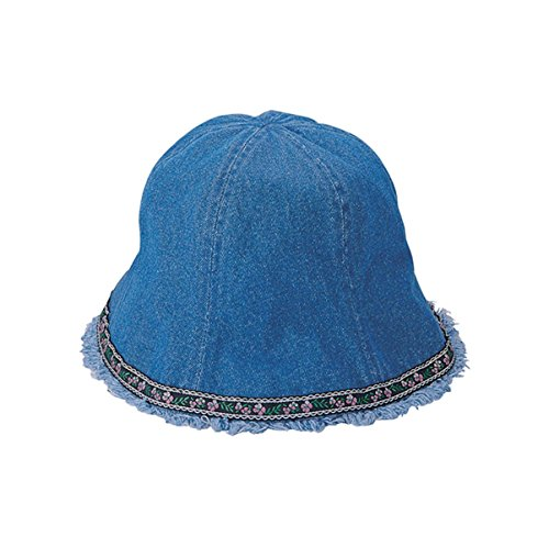 Hats & Caps Shop Denim Washed Bucket Hat - By TheTargetBuys | (D.BLUE)