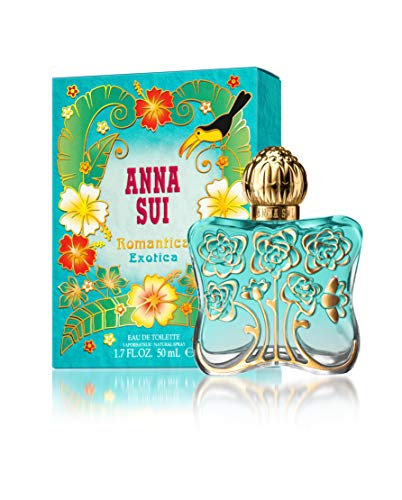 Anna Sui Romantica Exotica Eau de Toilette Spray, 1.7 Ounce