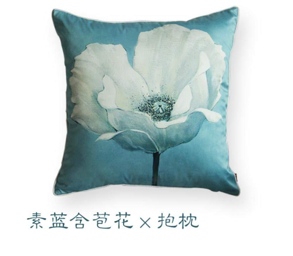hefeiyu Cojín del sofá Magnolia Almohada Abierta al por ...