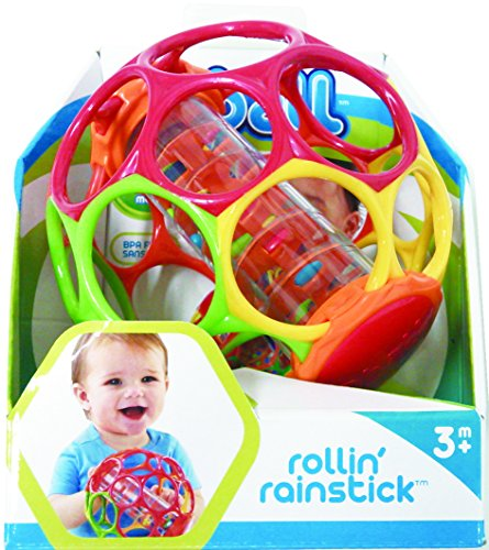 "Rollin' Rainstick Rattle 6.0"" x 6.0"" x 6.0"""