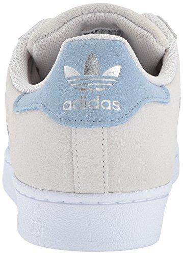 best website aa145 02269 ... Adidas Heren Superster Parelgrijs  Tactiel Blauw  Tactiel Blauw ...