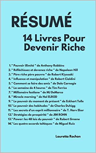 Amazon Com Resume 14 Livres Pour Devenir Riche Un