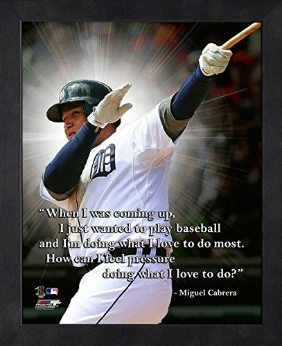 Miguel Cabrera Detroit Tigers ProQuotes Photo (Size: 9