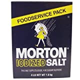 Morton Iodized Table Salt - 4lb. Box (4 Pack)