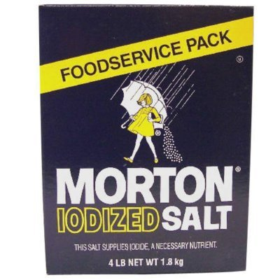 Morton Iodized Table Salt - 4lb. Box (2 Pack) (Iodized Table Salt compare prices)