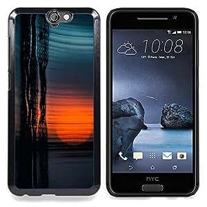 Sun Building Abstract Reflection Caja protectora de pl??stico duro Dise?¡Àado King Case For HTC ONE A9