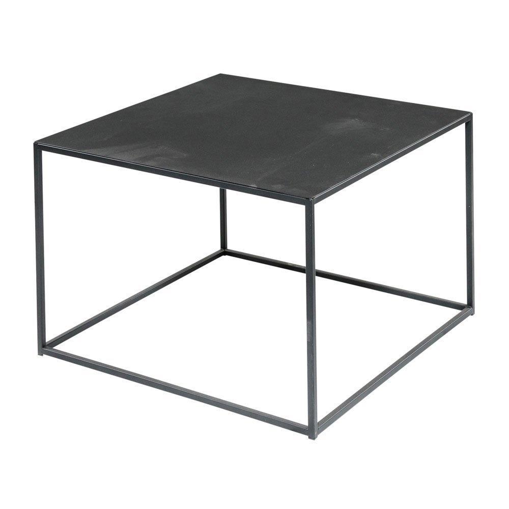 Amazon Com Black Steel Square Coffee Table 24 Inches Handmade