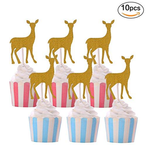 Deer Cake Toppers Amazon