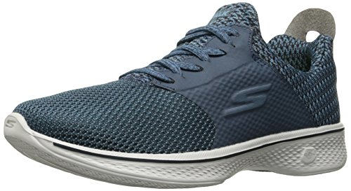 Walk navy Blue grey sustain Skechers Allenatori Donna Go 4 qfYSw5C