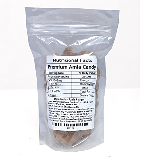 Leeve Dry Fruits Sweet Amla Pieces - 800 Grams by Leeve Dry Fruits (Image #1)