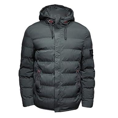 Challeng Jacken Herren Winterjacke Baumwolle Stand Zipper