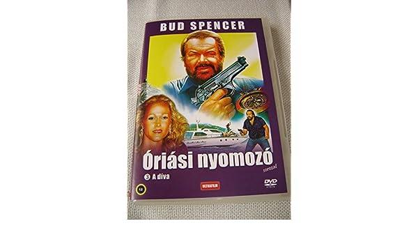 Amazon.com: Óriási nyomozó: A díva (1988) Big Man: A Diva / Bud Spencer / ENGLISH, HUNGARIAN and ITALIAN Audio / Hungarian Subtitles [European DVD Region 2 ...