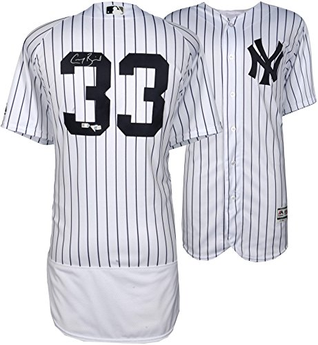 Greg Bird New York Yankees Autographed Majestic White Authentic Jersey - Fanatics Authentic Certified ()