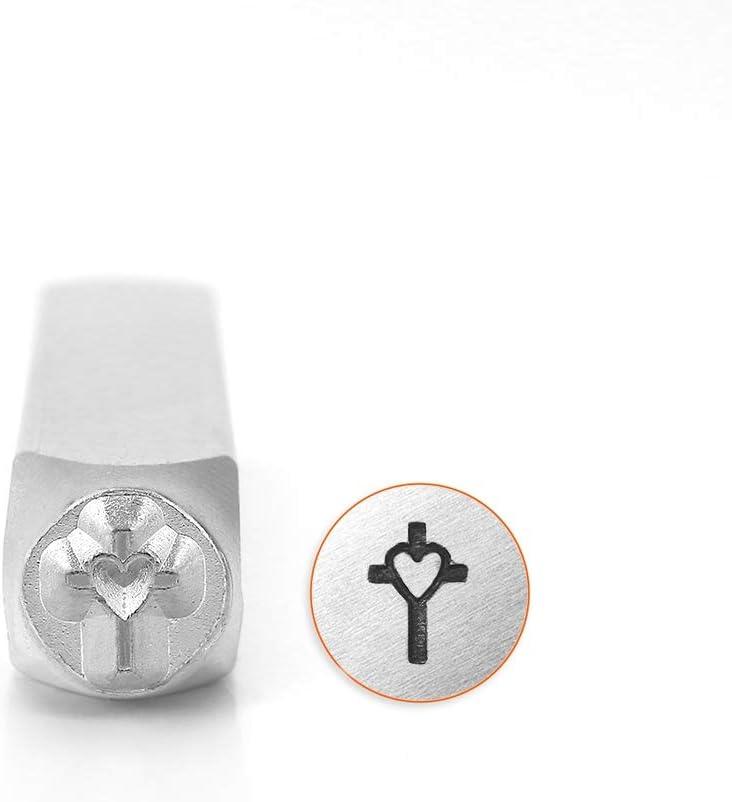 6 mm ImpressArt SCDESIGN-1518D Cross Outline Design Stamps