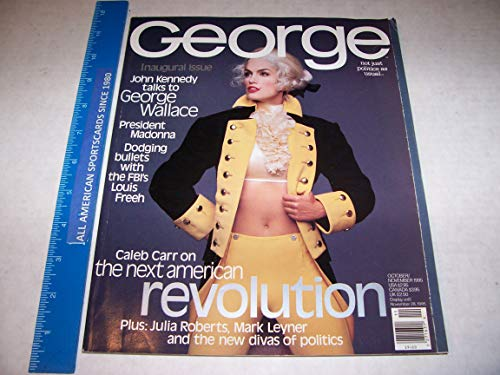 1995 October/November Inaugural George Magazine (First Issue) Ex/Near Mint