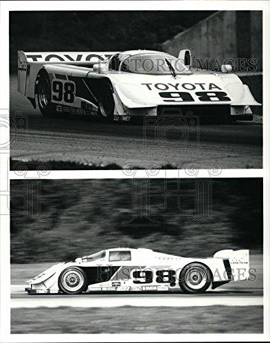 Toyota Car Photo - Press Photo Toyota race car - orc01223