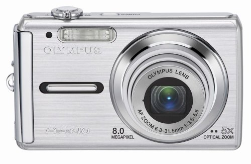 (Olympus FE-340 8MP Digital Camera with 5x Optical Zoom (Silver))