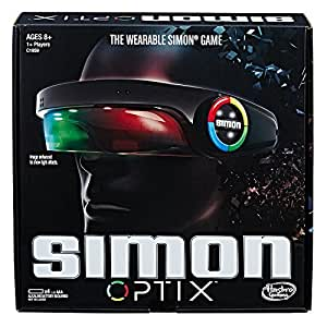 SIMON OPTIX - the wearable Simon Game - 1+ Players - Memory Games & Kids Toys - Ages 8+