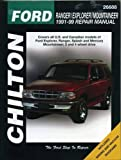 Ford Ranger, Explorer, and Mountaineer, 1991-99