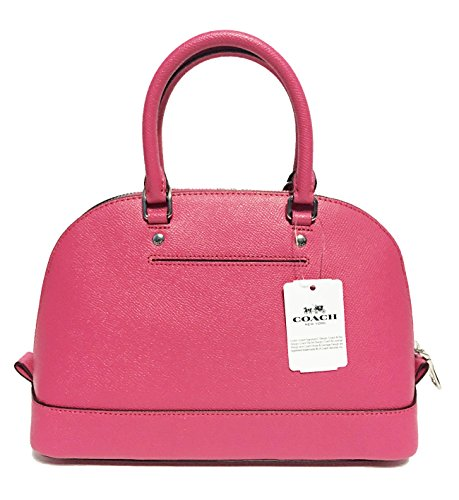 Coach Sv Mini Women��s Shoulder Satchel Sierra Inclined Purse Magenta Handbag Shoulder PZqPTnr