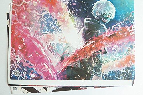 8 pcs Anime Tokyo Ghoul Poster Prints Set #2