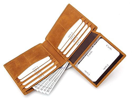 Wardeindesign Men's Leather Wallet Bifold RFID Designer engraved - and leather key fob by Wardeindesign (Image #6)