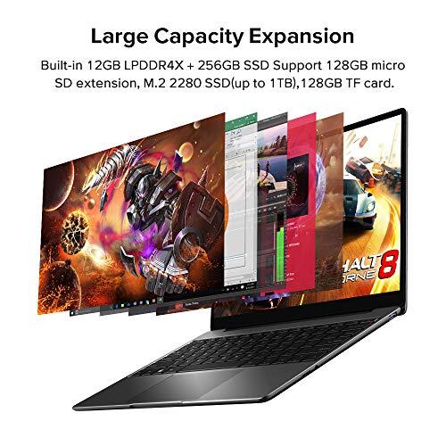 CHUWI Ordenador portatil GemiBook Ultrabook 13 Pulgadas Windows 10 Laptop Intel Celeron J4115 hasta 2.5Ghz 12GB RAM…