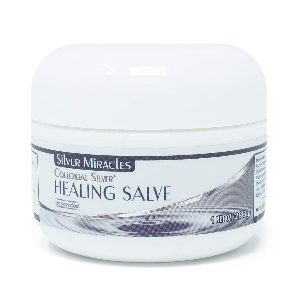 Colloidal Silver Healing Salve - 1 oz