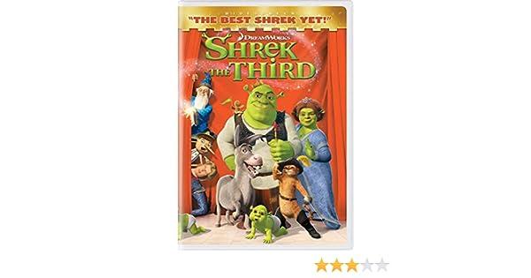 Shrek the Third [Reino Unido] [DVD]: Amazon.es: Cine y Series TV
