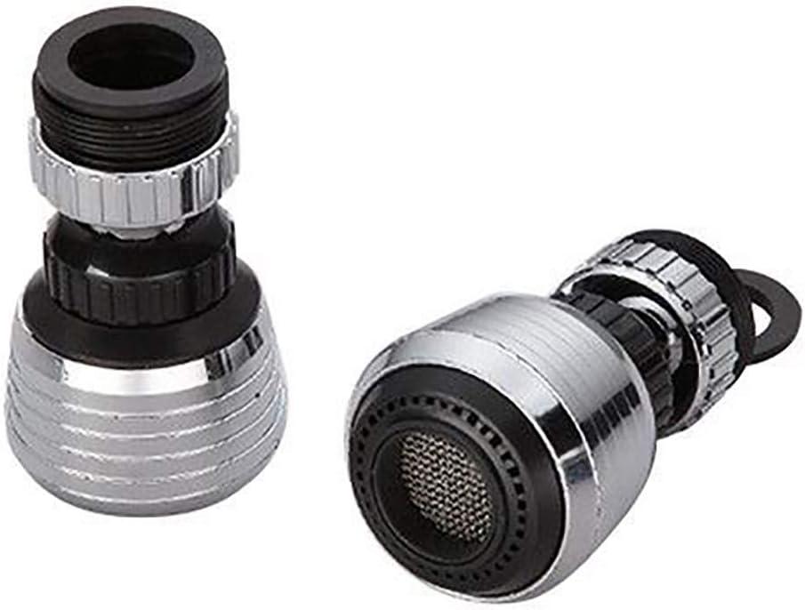 Rotate Swivel Water Saving Tap Aerator Diffuser Faucet Nozzle Filter Adapter J
