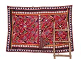 Traditional Indian Banjara Yoke Embroidery Applique Sewing craft