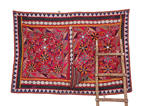 Traditional Indian Banjara Yoke Embroidery Applique Sewing craft by Jaipur Textile Hub