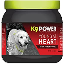 K9 Power – Young At Heart Senior Dog Supplement Formula – 1 lb