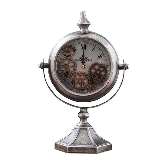 Relojes de mesa Reloj de Escritorio Engranaje Funciona con Pilas ...