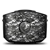 Digital Urban Camo Design Protective Decal Skin Sticker (Matte Satin Coating) for Decorating Gaems Sentry Personal Gaming Carry Case (Console and Case NOT included)