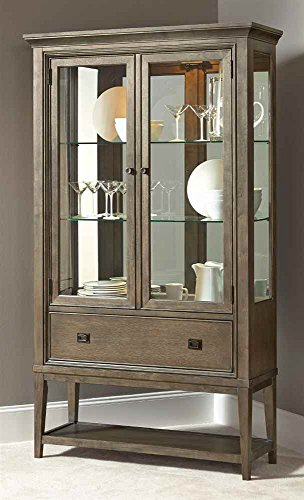 Modern China American Cabinet (American Drew 605160 Modern Curio China Cabinets)