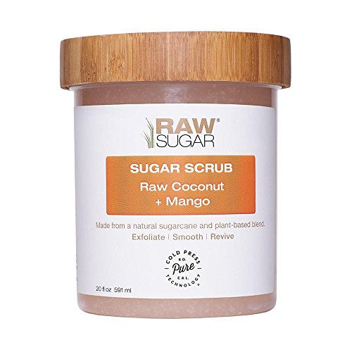 Raw Sugar Raw Coconut & Mango Body Scrub 20oz