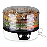 Food Dehydrator - 360 Degree Rotation with 24HR Timer Control