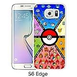Fashion Designed Pokemon 22 White Samsung Galaxy S6 Edge Phone Case