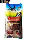 YUMMYWORMS Dried Mealworms Wild Bird Food, 5 lb