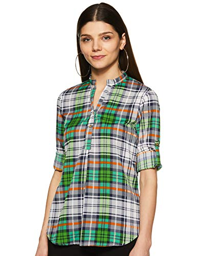 Styleville.in Women's Button Down Shirt with Full Sleeves and Pocket