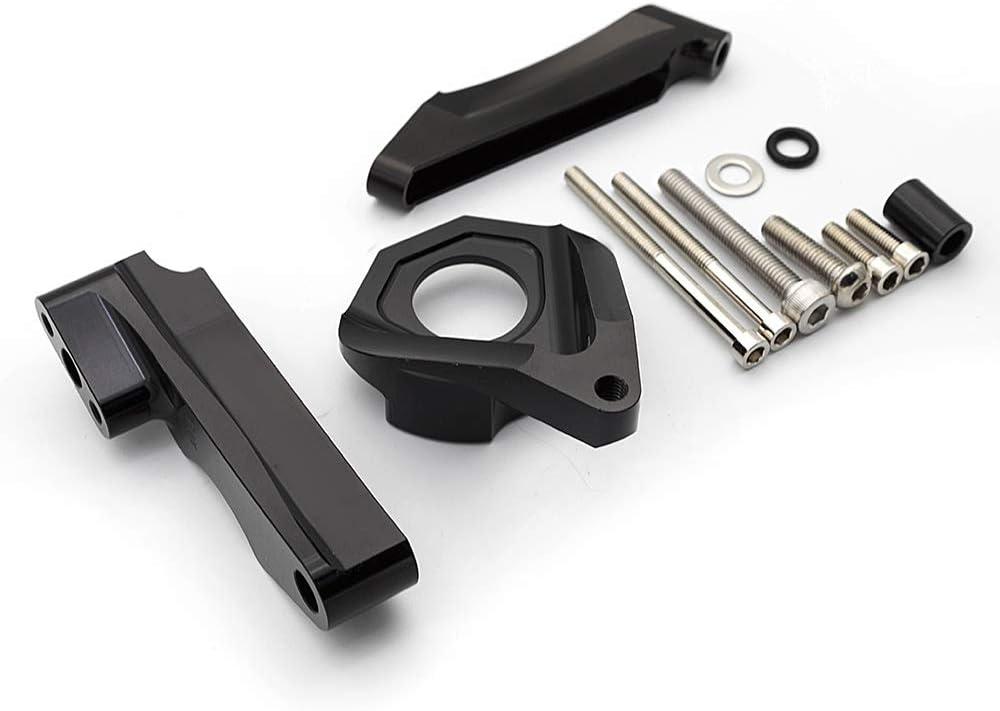 FXCNC Racing Motorcycle CNC Steering Damper Stabilizer Buffer Control Bar With Mounting Bracket Kit Full Set Fit For SUZUKI GSXR600 GSX-R600 GSR750 K4 2001-2005 GSXR750 GSX-R750 2000-2005