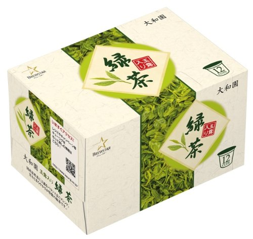 K-CUP Yamato Garden Gyokuro containing green tea (3gX12 pieces) X8 boxes by K Cup
