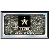 Trademark Poker U.S. Army Digital Camo Framed Logo Mirror