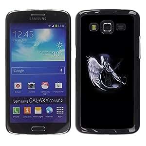 Stuss Case / Funda Carcasa protectora - Angel Death Warrior White Art Heaven Sword - Samsung Galaxy Grand 2 SM-G7102 SM-G7105