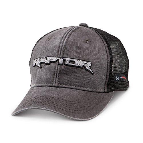 Ford F-150 Raptor Mesh Back Gray Baseball Cap